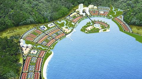 Mô hình xây dựng khu phức hợp casino Bắc Vân Phong