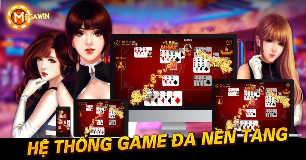 hệ thống game megawin