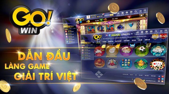 Go Win – Game bài đổi thưởng mới ra 2018