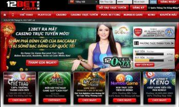 12Bet- Nhà cái Casino, Bóng đá uy Tín tại Việt Nam