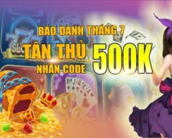 Mely.win  – Báo danh tháng 7 nhận code 500