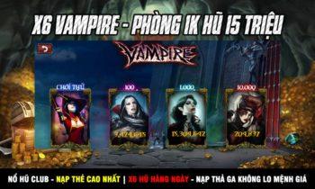 Nổ Hũ Club||Huno.Club: X6 Hũ Vampire + tặng ngay 200 code