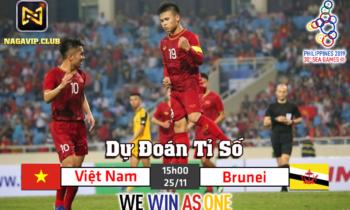 NaGaVip – Dự đoán Việt Nam – Brunei nhận bánh mì 200K