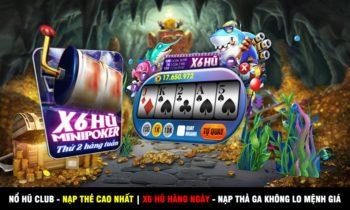 Nổ Hũ Club||Huno.club: X6 Hũ Mini Poker + Lộc 500 code