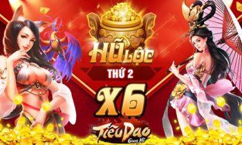 Hũ Lộc: X6 Hũ Tiêu Dao + Tặng code Lộc 100K