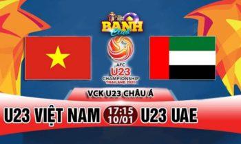 Banh Club: Dự đoán tỷ số Việt Nam – UAE nhận 200K
