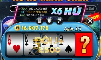 Big Club: X6 MiniPoker – Tham gia đố vui nhận code 20K
