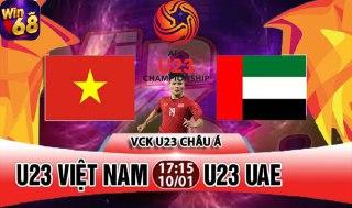 Win68.Vip: Nhận Giftcode Siêu To –  dự đoán Việt Nam vs UAE