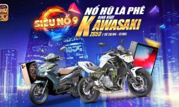 Nổ Hũ Club: Chơi Nổ Hũ 9 Rinh ngay Kawasaki
