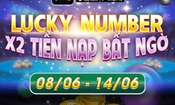 Nagavip: Event con số may mắn X2 tài khoản