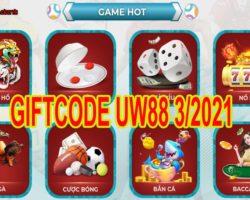 Giftcode UCW88 tháng 3 – Nạp tiền nạp luôn tài lộc cho mình