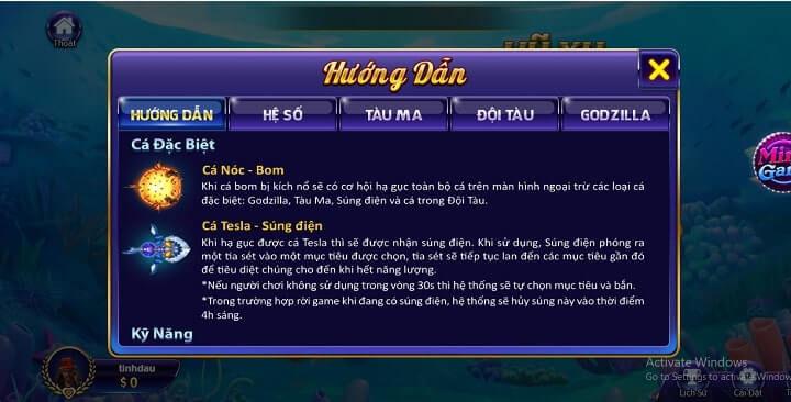 cách chơi bắn cá 3d